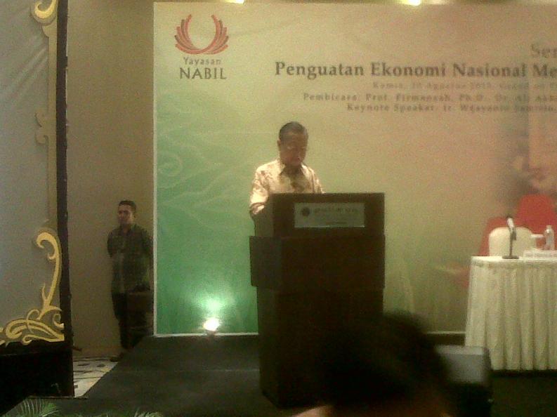 Membangun Indonesia Harus Holistik dan Integral