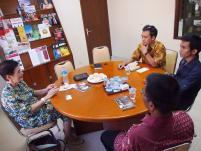 Diskusi dengan Prof Aiko Kurasawa