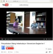 Penyerbukan Silang Antarbudaya- Wawancara di You Tube